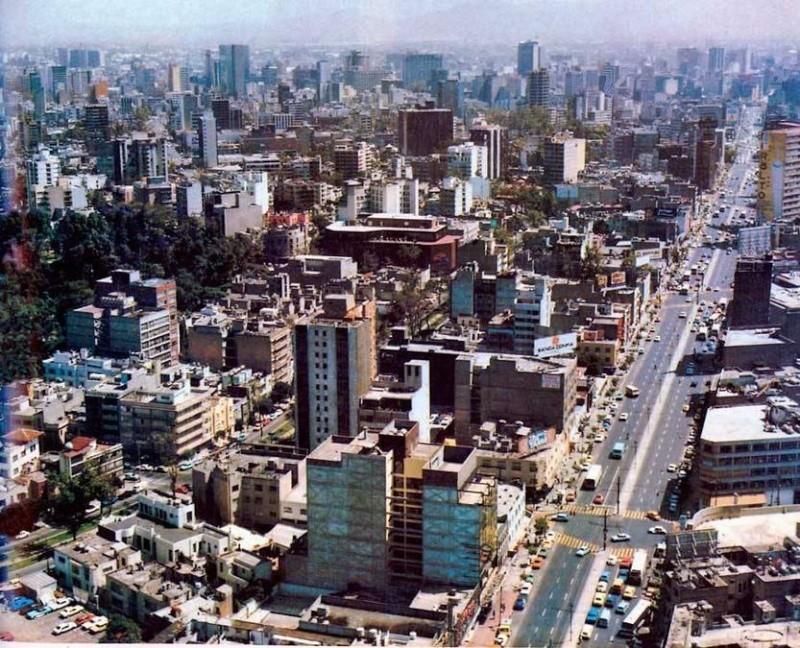 [Mexique] - L'avenida Insurgentes, Mexico, plus longue avenue du monde 83310010