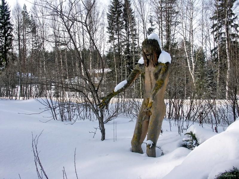 [Finlande] - Parc de sculptures Patsaspuisto, Parikkala 85053010