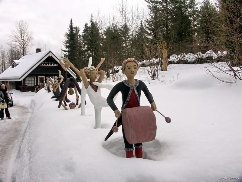 [Finlande] - Parc de sculptures Patsaspuisto, Parikkala 85054110