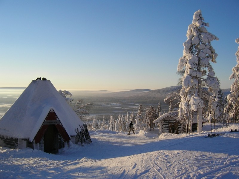 [Finlande] - Les tunturi, montagnes arctiques de Laponie 98593710