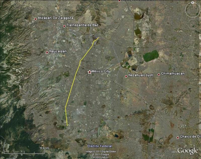 [Mexique] - L'avenida Insurgentes, Mexico, plus longue avenue du monde Avenue10