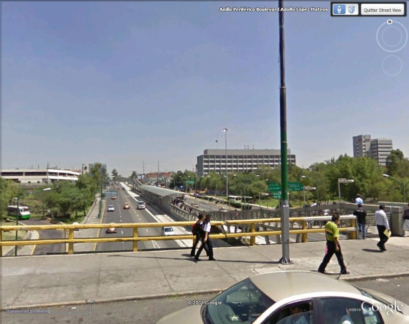 [Mexique] - L'avenida Insurgentes, Mexico, plus longue avenue du monde Avenue12