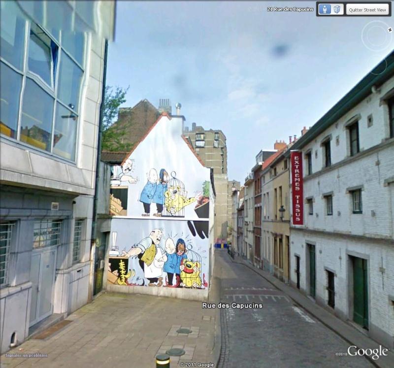 Les parcours BD de Bruxelles, Laeken et Anvers - Page 3 Blondi10