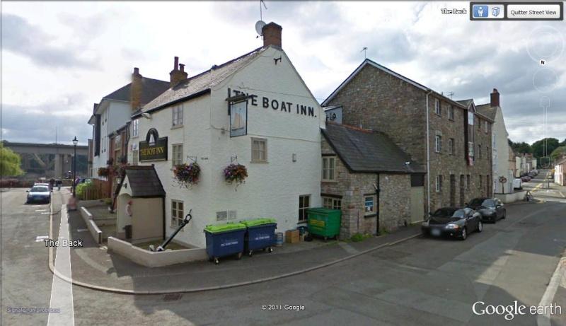 La Digue d'Offa (Offa's Dyke), frontière entre l'Angleterre et le Pays de Galles Boat_i10