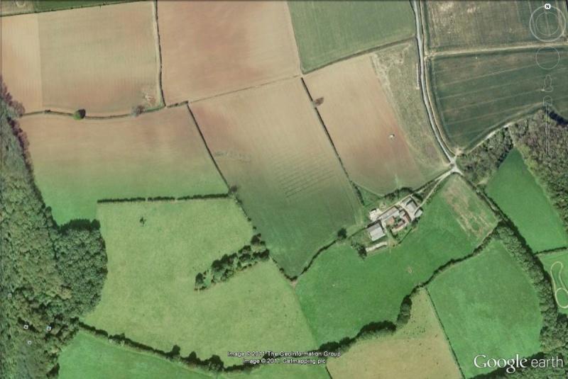 La Digue d'Offa (Offa's Dyke), frontière entre l'Angleterre et le Pays de Galles Bocage10