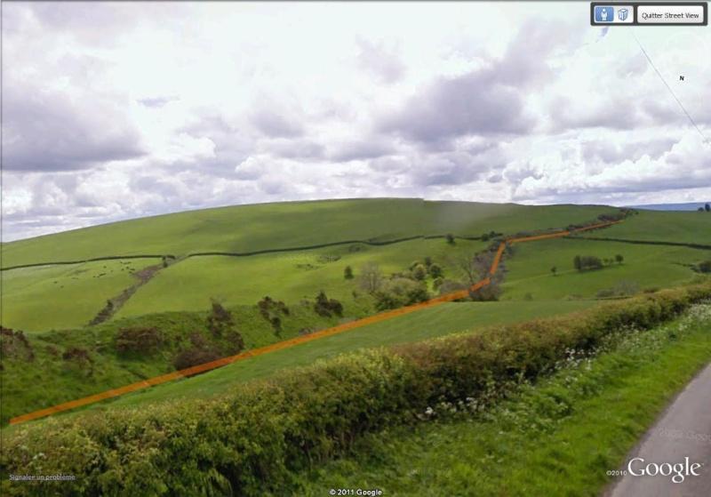 La Digue d'Offa (Offa's Dyke), frontière entre l'Angleterre et le Pays de Galles Digue_12