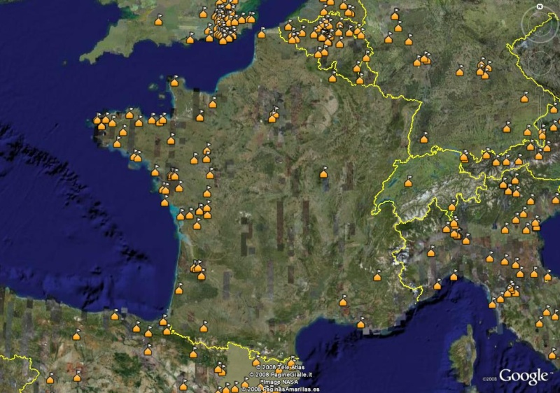 La France sous toutes ses coutures avec Google Earth - Page 2 Ecoles10