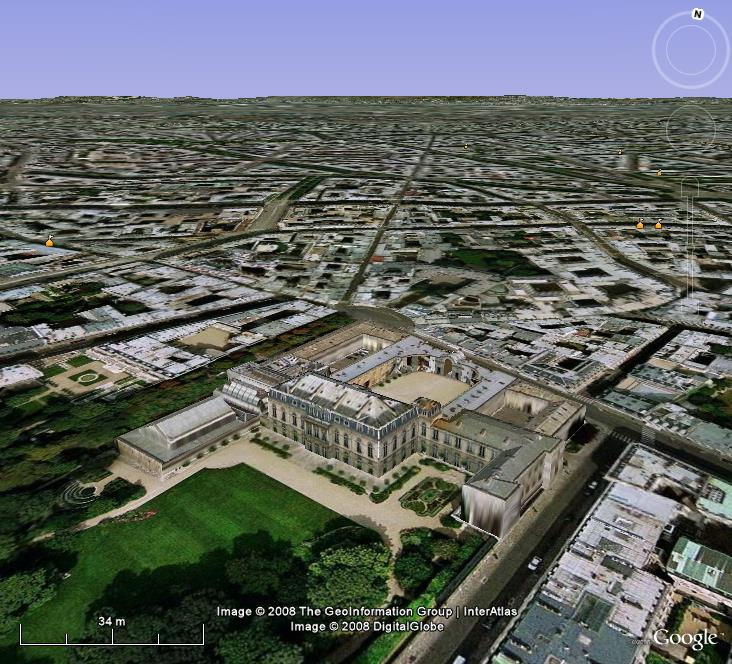La France sous toutes ses coutures avec Google Earth - Page 2 Elysee12