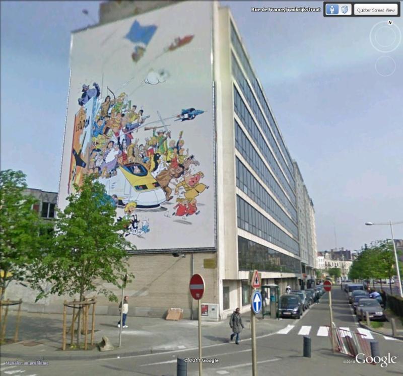 Les parcours BD de Bruxelles, Laeken et Anvers - Page 5 Fresqu10