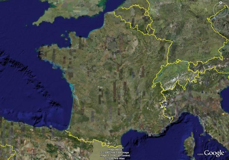 La France sous toutes ses coutures avec Google Earth Fronti11