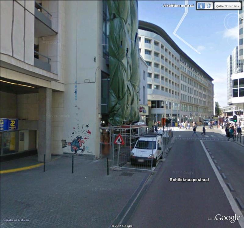 Les parcours BD de Bruxelles, Laeken et Anvers - Page 4 Gaston10