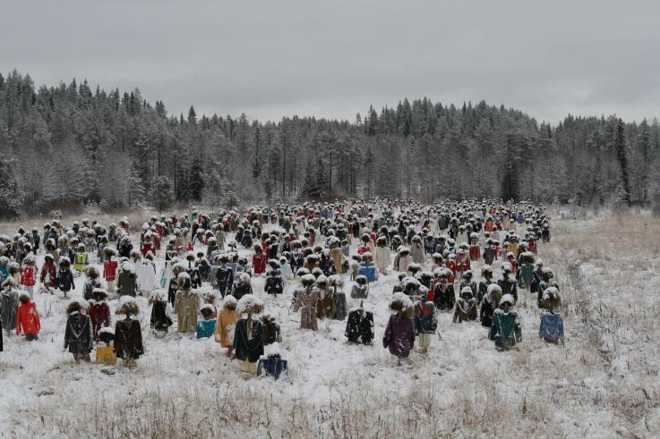 [Finlande] - Le Peuple Silencieux (oeuvre), Suomussalmi Img_5510