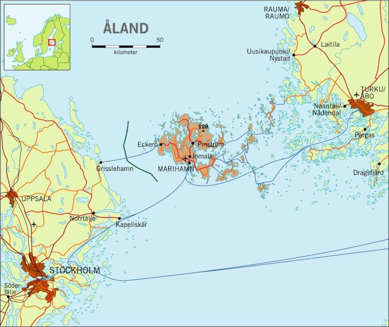 [Finlande] - L'archipel de Turku Karta_11