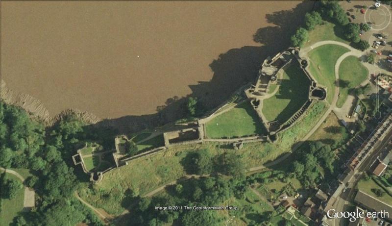 La Digue d'Offa (Offa's Dyke), frontière entre l'Angleterre et le Pays de Galles Le_cha11