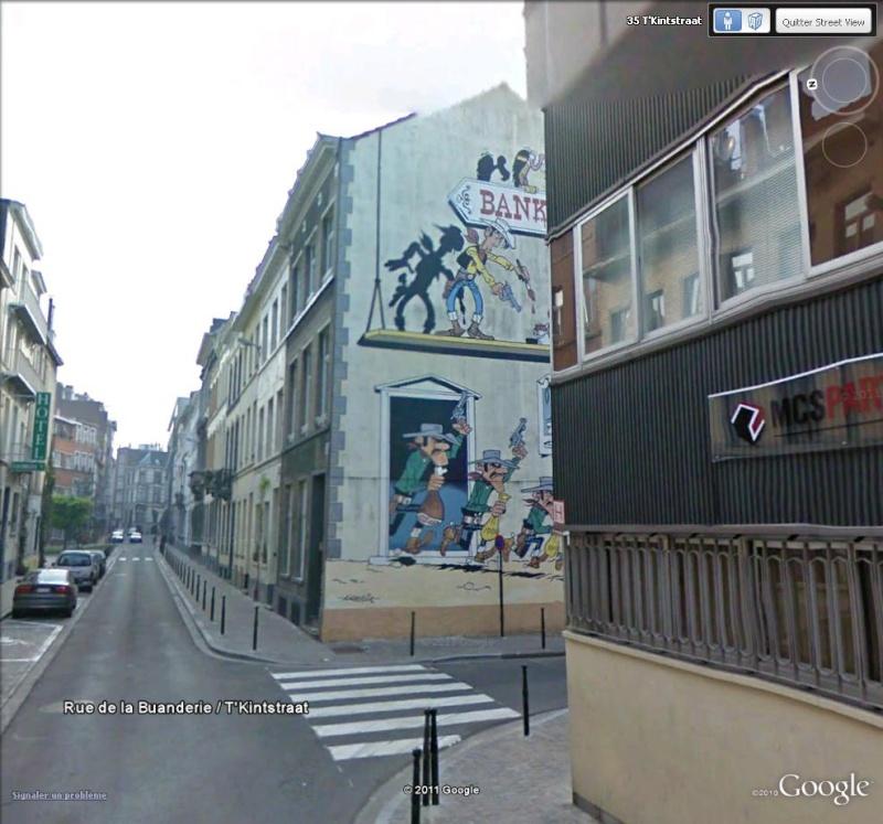 Les parcours BD de Bruxelles, Laeken et Anvers Lucky_10