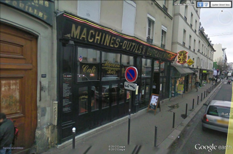 STREET VIEW : bistrots et  bars Macano10