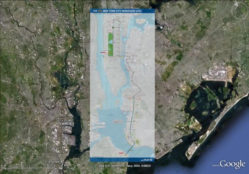 Marathon de new York : 42 kilomètres de découvertes ! Marath10