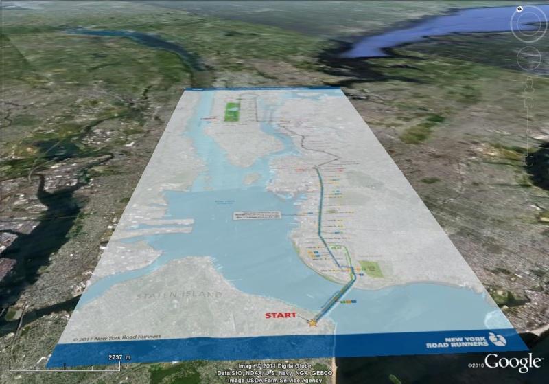 Marathon de new York : 42 kilomètres de découvertes ! Marath11