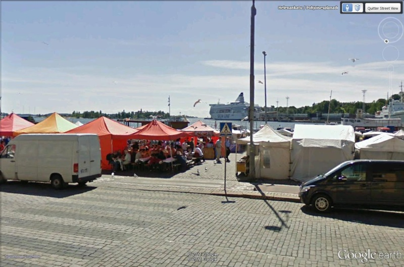 [Finlande] - Le port sud d'Helsinki Marcha13