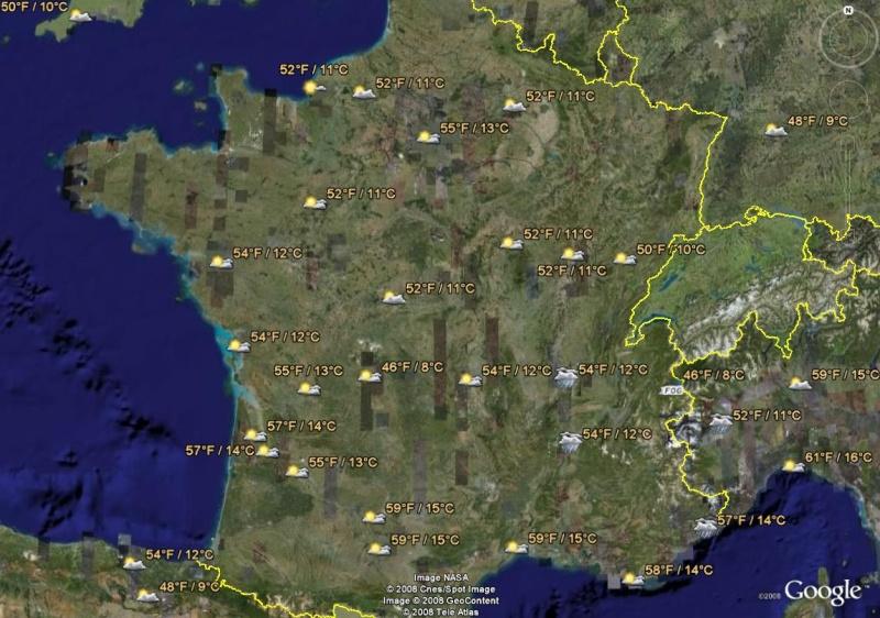 La France sous toutes ses coutures avec Google Earth Meteo_10