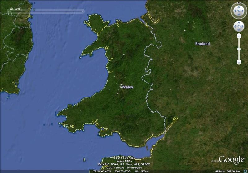 La Digue d'Offa (Offa's Dyke), frontière entre l'Angleterre et le Pays de Galles Offa_110