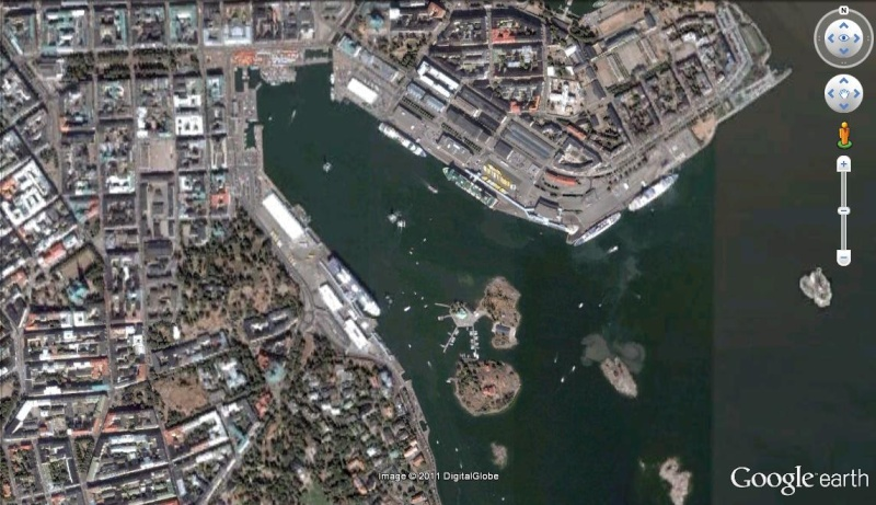 [Finlande] - Le port sud d'Helsinki Port_s10