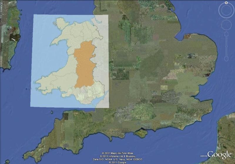 La Digue d'Offa (Offa's Dyke), frontière entre l'Angleterre et le Pays de Galles Powys10