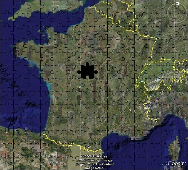 La France sous toutes ses coutures avec Google Earth - Page 3 Puzzle10