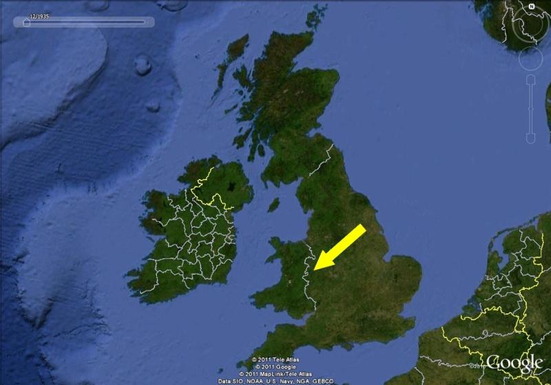 La Digue d'Offa (Offa's Dyke), frontière entre l'Angleterre et le Pays de Galles Royaum10