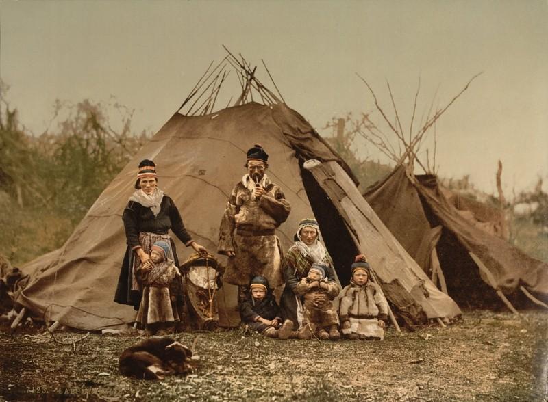 [Finlande] - Les Sâmes, habitants autochtones du grand nord Saami_10
