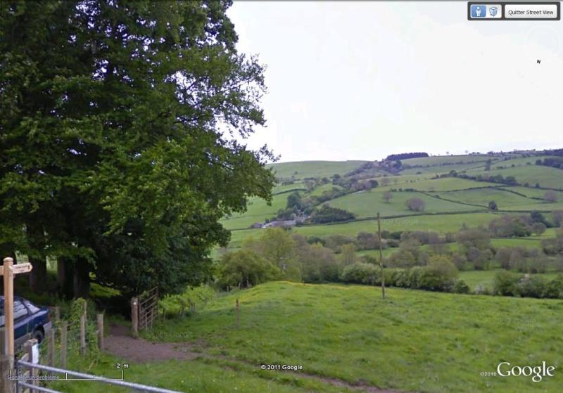 La Digue d'Offa (Offa's Dyke), frontière entre l'Angleterre et le Pays de Galles Sentie10