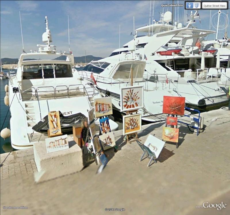 STREET VIEW : Artistes peintres, toiles et galeries d'art St_tro14