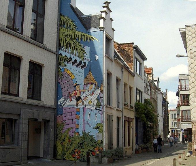 Les parcours BD de Bruxelles, Laeken et Anvers - Page 6 Suske_11