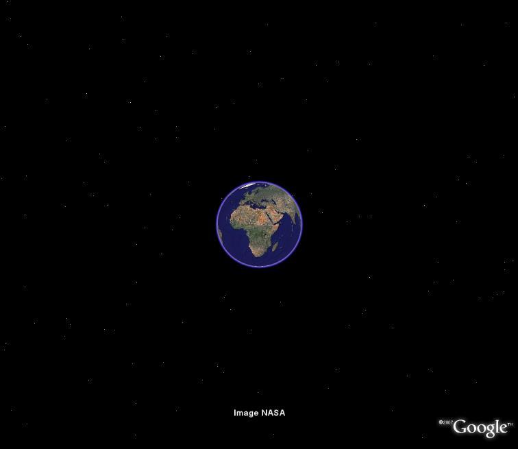 La surprise d'Avril de Google Earth Terre11