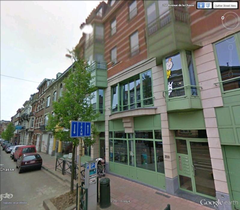 Les parcours BD de Bruxelles, Laeken et Anvers - Page 5 Tintin10