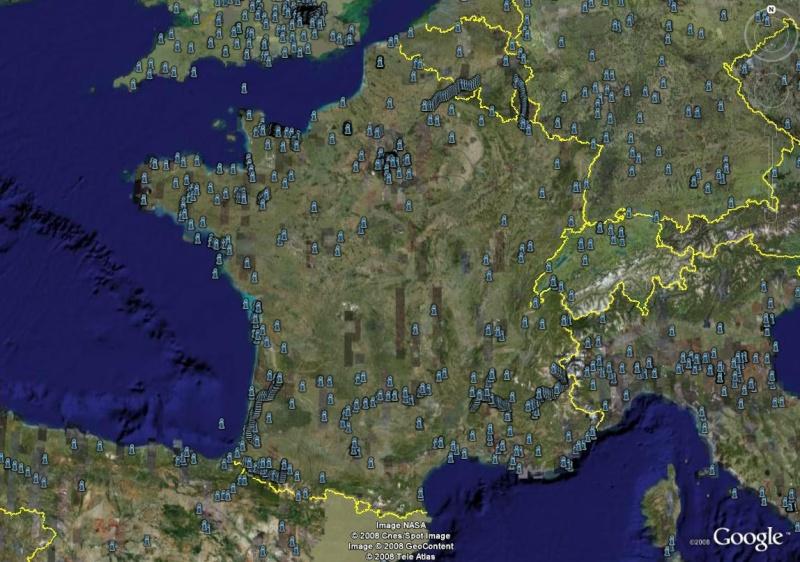 La France sous toutes ses coutures avec Google Earth Versio10