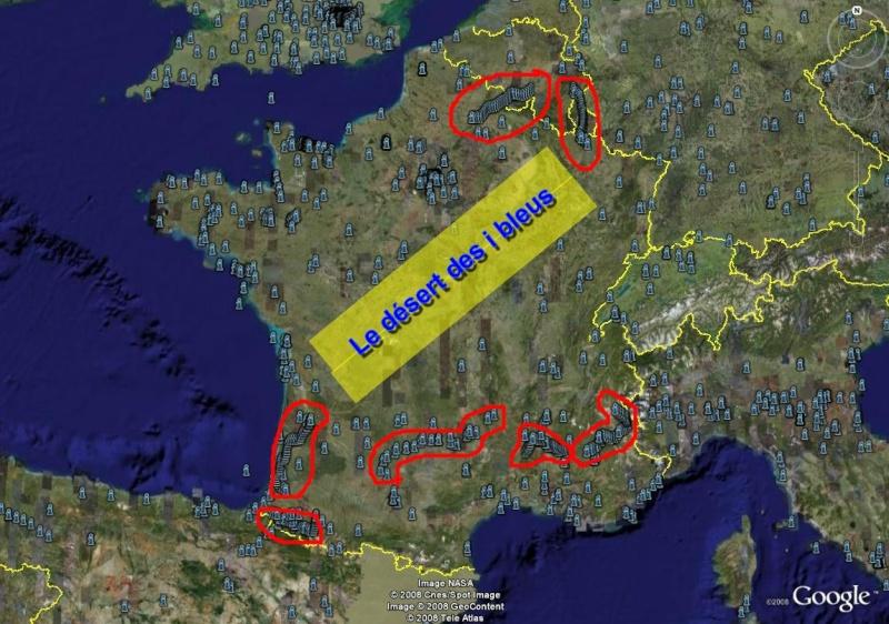La France sous toutes ses coutures avec Google Earth Versio11