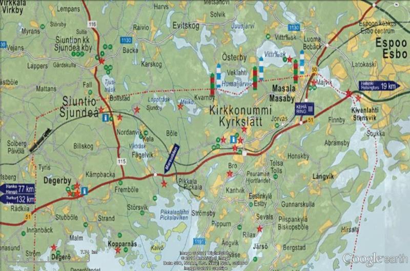 [Finlande] - Porkkala, une enclave soviétique en Finlande Voie_f10