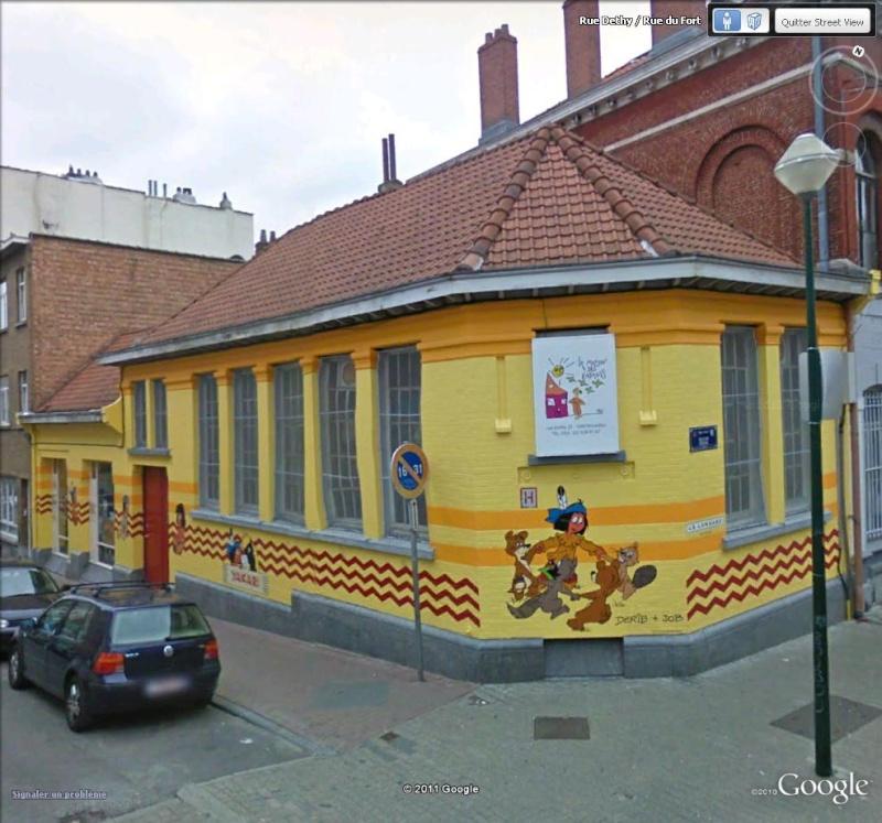 Les parcours BD de Bruxelles, Laeken et Anvers - Page 5 Yakari10