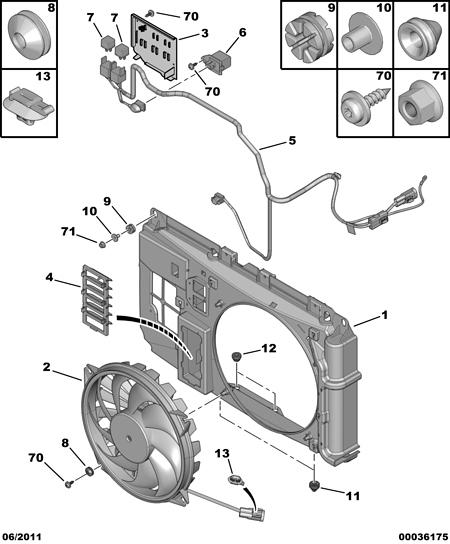 [ Citroen berlingo 1.9d an 2006 ] problème ventilateur refroidissement moteur (résolu) Refroi10