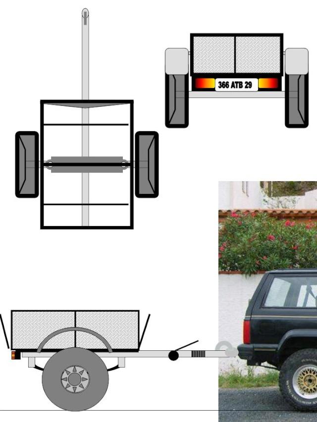 "Fabrication d'une remorque style ""off-road"" Presen17"