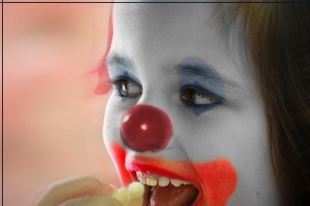 Circus Performer Badge Clown10