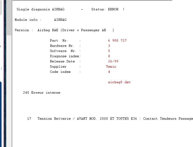 diag - Brancher un PC sur une BMW (CARSOFT) - Page 9 Captur11