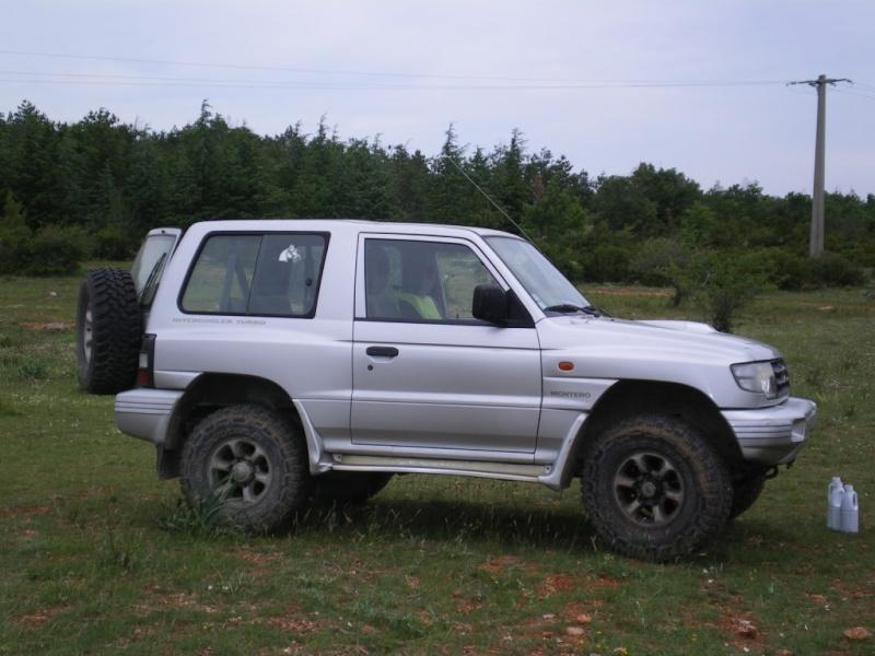 4x4 Mitsubishi Montero court très bon état   -vendu- Imgp0510