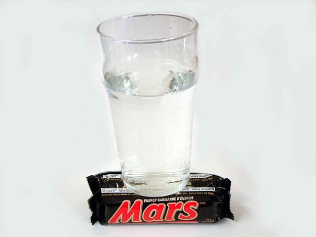 La Nasa publie une photo de l'eau sur Mars Watero10