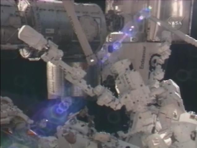 [STS-123 / ISS1J/A] EVA2 Dextre10