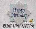 HAPPY BIRTHDAY FOR UPUNYORA Upunyo15