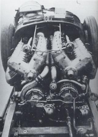 Maserati V4: 16 piccoli guerrieri per battere Mefisto 16_cil14