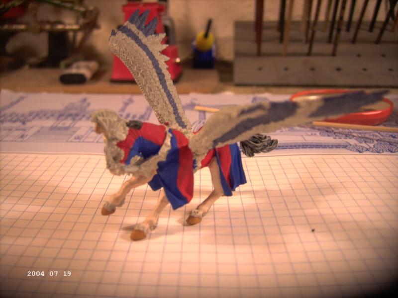 Warhammer - Bretonischer Held auf Pegasus - Fertig Pict0010