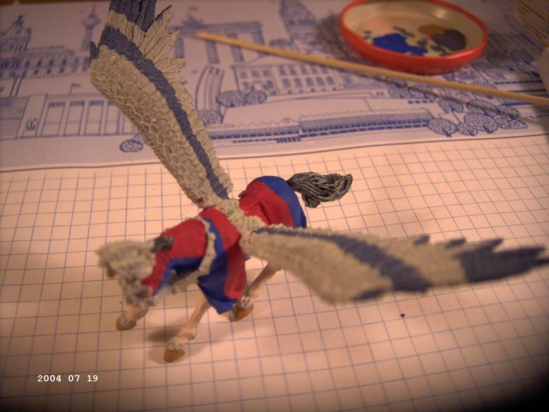 Warhammer - Bretonischer Held auf Pegasus - Fertig Pict0011